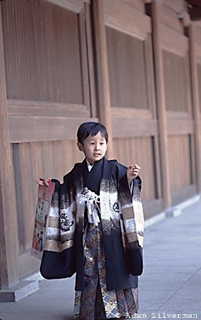 Boy at Meiji Jingu Shrine