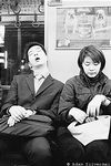 Sleeping Salaryman on Subway