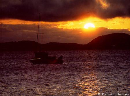 Inawashiro Sunset