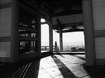 Shadows at Kiyomizu Temple