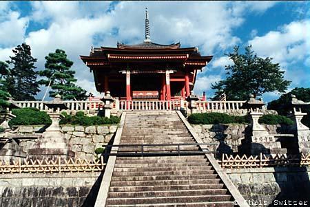 Kiyomizu Temple Gate