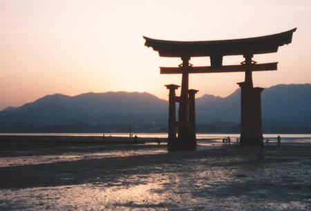 Itsukushima Shrine Gate