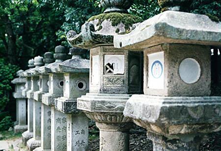 Stone Lanterns at Kasuga Grand Shrine